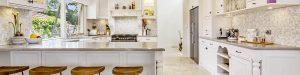 Photo of a French Provincial Kitchen Style in Melbourne