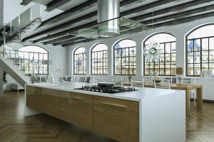 Industrial Style Kitchen Renovation Design